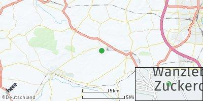 Google Map of Klein Wanzleben