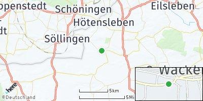 Google Map of Wackersleben