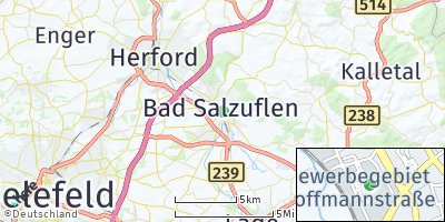 Google Map of Bad Salzuflen