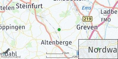 Google Map of Nordwalde