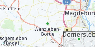 Google Map of Domersleben