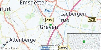 Google Map of Greven
