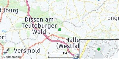 Google Map of Borgholzhausen