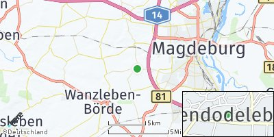 Google Map of Hohendodeleben
