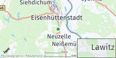Google Map of Lawitz