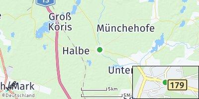 Google Map of Märkisch Buchholz