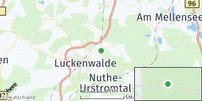 Google Map of Nuthe-Urstromtal