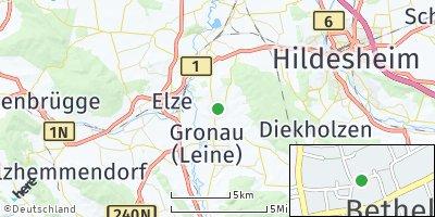 Google Map of Betheln