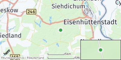 Google Map of Schlaubetal
