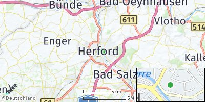 Google Map of Herford