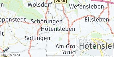 Google Map of Hötensleben