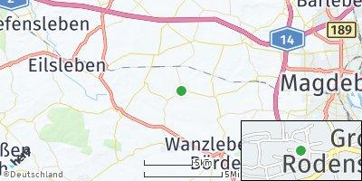 Google Map of Groß Rodensleben