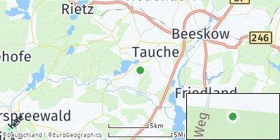 Google Map of Tauche