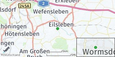 Google Map of Wormsdorf