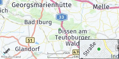Google Map of Hilter