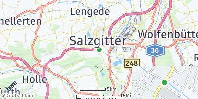 Google Map of Salder