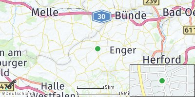 Google Map of Spenge