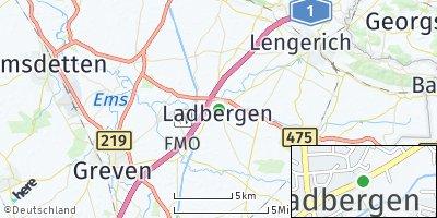 Google Map of Ladbergen
