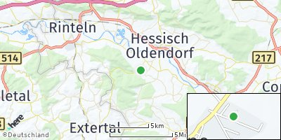Google Map of Klein Heßlingen