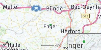 Google Map of Enger