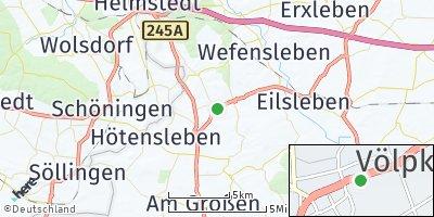 Google Map of Völpke