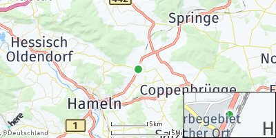 Google Map of Hasperde