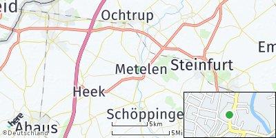 Google Map of Metelen