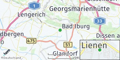Google Map of Lienen