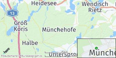 Google Map of Münchehofe