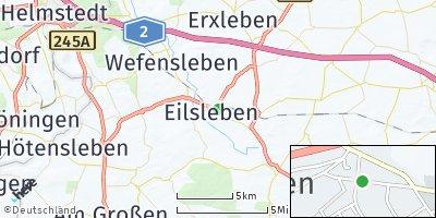 Google Map of Eilsleben