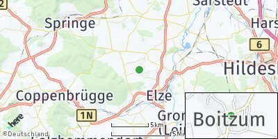 Google Map of Boitzum
