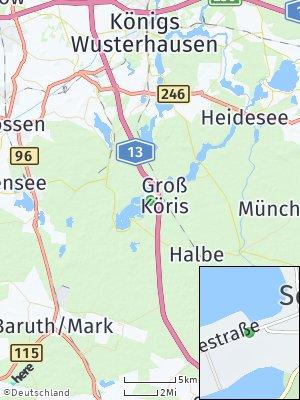 Here Map of Schwerin