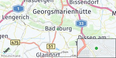 Google Map of Bad Iburg