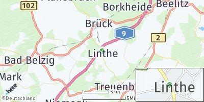 Google Map of Linthe