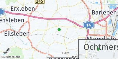 Google Map of Ochtmersleben