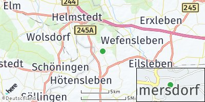 Google Map of Sommersdorf