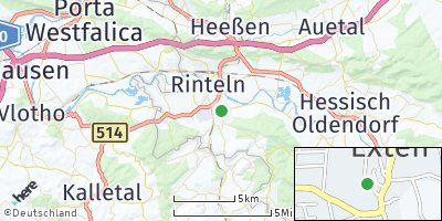 Google Map of Exten