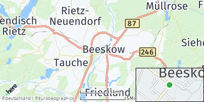 Google Map of Beeskow