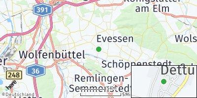 Google Map of Dettum