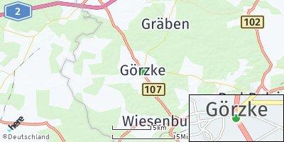 Google Map of Görzke