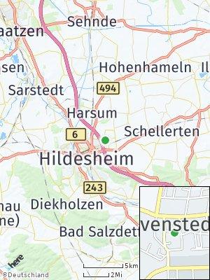 Here Map of Bavenstedt