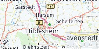 Google Map of Bavenstedt