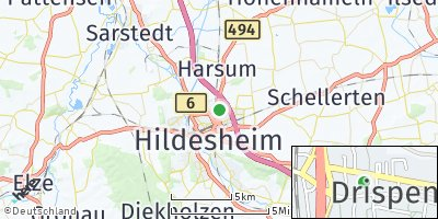 Google Map of Drispenstedt