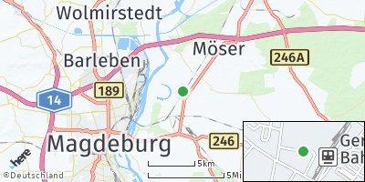 Google Map of Gerwisch