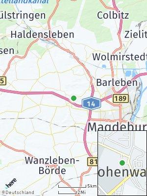 Here Map of Hohenwarsleben