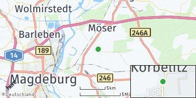 Google Map of Körbelitz