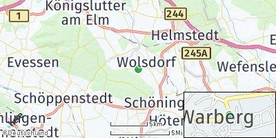 Google Map of Warberg
