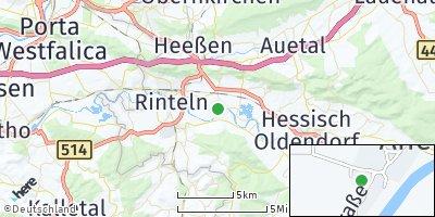 Google Map of Ahe