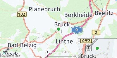Google Map of Brück