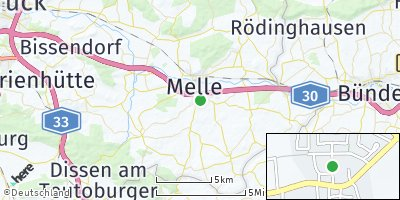 Google Map of Altenmelle